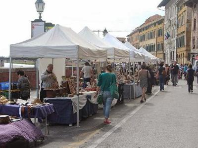 What to do in Pisa: Pisa between street and flea markets