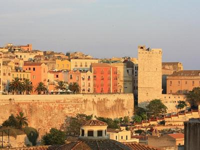 What to do in Cagliari: Enjoy the sunset from Bastione Santa Croce