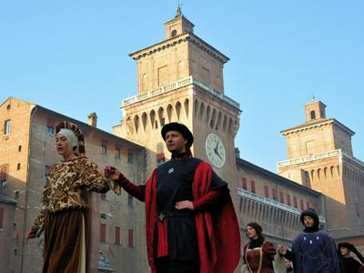 What to do in Ferrara: Taking part in the Carnival