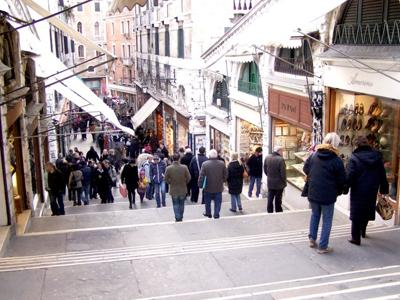 Things to do in Venice: Shop at Le Mercerie