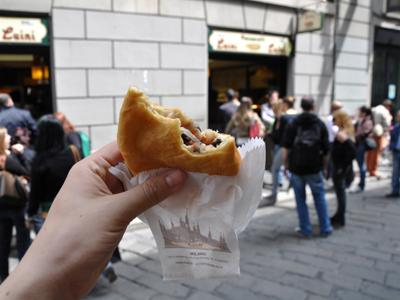 What to do in Milan: Eat the legendary panzerotti