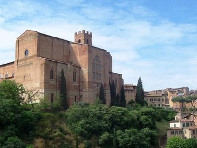 What to see in Siena: Basilica of San Domenico