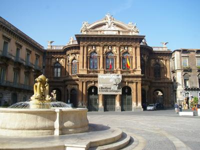Things to do in Catania: Treat yourself to a show at the Teatro Massimo Bellini