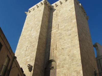 Things to see in Cagliari: The twin towers