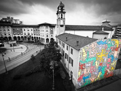 What to see in Pisa: The Mural of Keith Haring